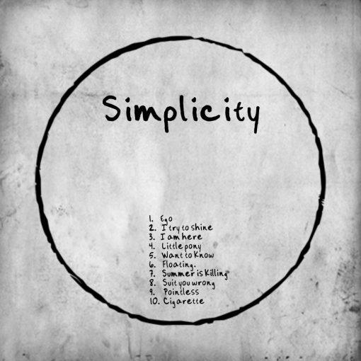 Simplicity back (album uit 2010, AndreVanEgmond.nl)